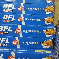 BFL  Aluminum Foil 242 SQ.F.T পাইকারি অ্যালমুনিয়াম ফয়েল