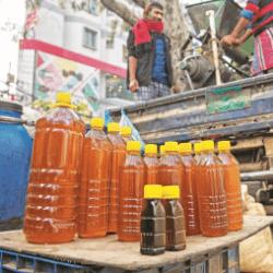 ১০০% খাঁটি সরিষার তৈল ।। Pure deshi mustard oil