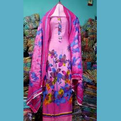 পাইকারি দামে ফেরদৌস লোন থ্রি পিচ   Ferdous loan dress collection