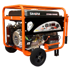 STORM D8000E – Gasoline Generator – 7.5KW । গ্যাসোলিন জেনারাটর