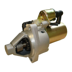 Starting motor for gasoline generator
