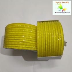 Yellow color Cutting Reshmi  churi-Yellow color Khaj kata Reshmi  churi-রেশমি  চুড়ি