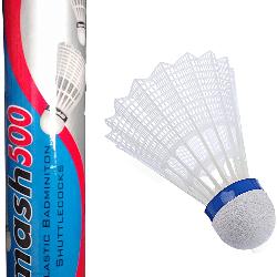Plastic Smash 500 Badminton Shuttlecock