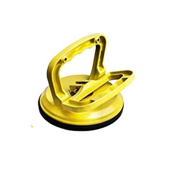 Heavy Duty Zinc Alloy Round Suction Cup Heavy Duty Glass Holder (For use with large glass Pieces)