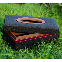 Buy Living Decorative Jute Tissue Box Holder